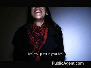 Publicagent español brunette sex al aire libre