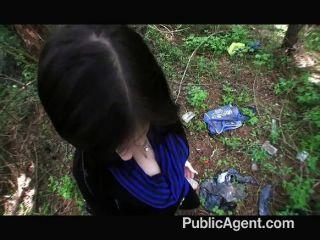 Publicagent inocente mujer joven follada
