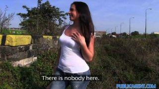 Publicagent sexy babe es follada por un desconocido