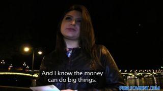 Publicagent akasha sexo bajo puente público