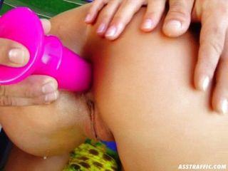 Culo duro anal anal en rubia