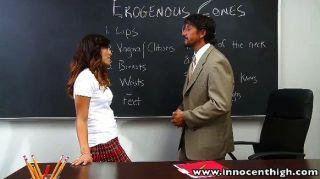 Alliyah cielo aprende acerca de la zona erógena