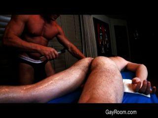 Conseguir caliente durante el masaje