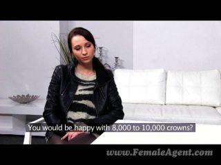 Femaleagent agente domina belleza delgada