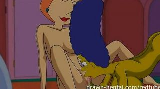 Lesbiana hentai marge simpson y lois griffin