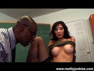 Slutty teacher anal cornudo para milf tit