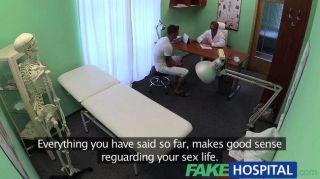 Novio fakehospital folla a su novia