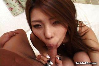 Sexy haruka sanada dando buena cabeza