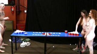 Strip beer pong con johnny, joe, kat y da