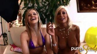Globos y lesbianas!Puma sueco alexis texas