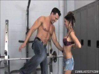 Cumblast en el gimnasio