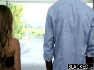 Negro interracial vacaciones para engañar novia remy lacroix