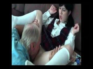Pai ensinando a la practicante