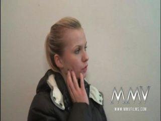 Mmv películas adolescente alemán se recogió y jodido