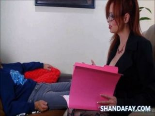 Pegging terapia sexual por fanda shanda!