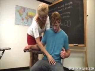 El profesor niega el orgasmo