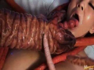 Hitomi tanaka le encanta ser follada por los tentáculos versión corta