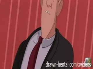 Ducha hentai gigante de hierro con annie