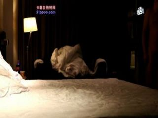 Las parejas chinas intercambian sexo entre dos chinos y dos chinas para intercambiar