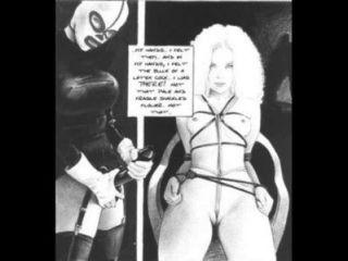 Sueños de una sádica esclavitud fetiche cómico
