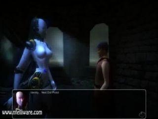 Monstruo chica quest 3d succubot escena