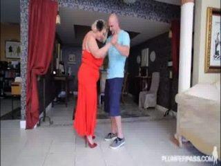 Mature bbw slut samantha 38g da lecciones de mierda stud