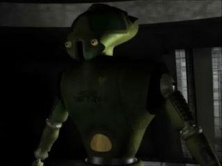 Animación 3d: robots de sexo