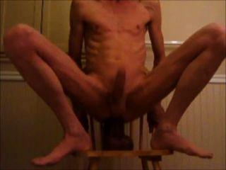 Caballo pene y el puño doble consolador anal extrema follando
