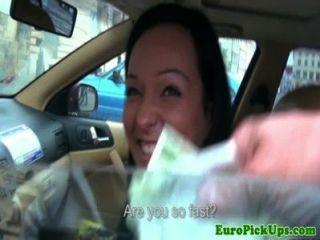 Publicsex euro prueba su polla por dinero en efectivo