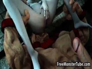 Foxy 3d babe obtener follada duro por el juggernautnoutvsdumino alta 1