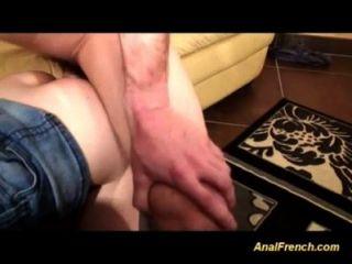 Chicas francesas son anal follada en la orgía