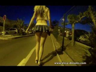 Sin bragas en la calle