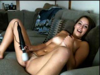 Hermosa muchacha cumming