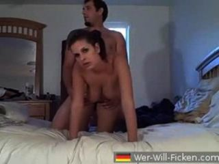 Muy sexy morena jodida amateur