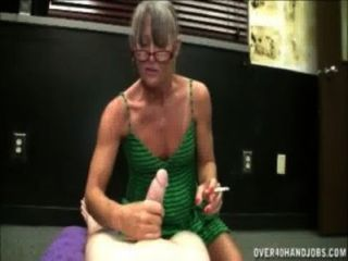 Fumando abuelita
