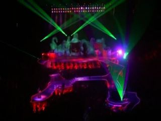 Lady gaga partynauseous \u0026 paparazzi (live artrave) 5 15 14
