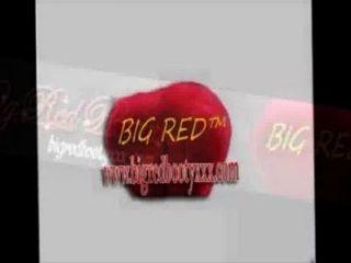 Explosión de cuatro vías con botín rojo grande amor cereza chuck franks vanidad perez