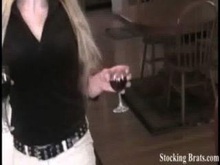 Sasha y toni sucias en medias