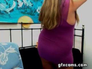 Mujer madura bbw griego tiras se burla de la leva