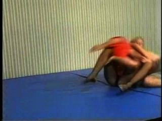 Flamenco mixta wrestling mw086 jessica vs charlie part2