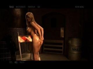 Brooke ashlynn juega con su culo