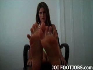 ¿Te gusta cómo me meneo los dedos de los pies para usted?