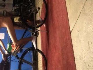 Yo y mi bicicleta