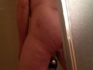 Espiando a marie masturbándose en la ducha