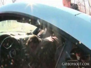 ¡frío!Fuck in hoot del coche!P.e.i