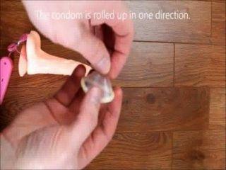 Cómo poner un condón video cómo poner un condón en la forma de condón