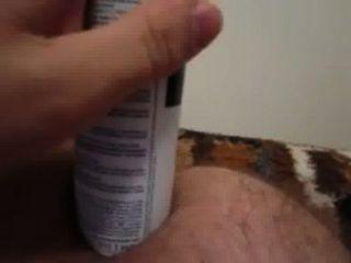 Juguete anal hecho en casa