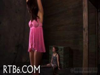 Ravishing playgirl obtiene tormento lujurioso