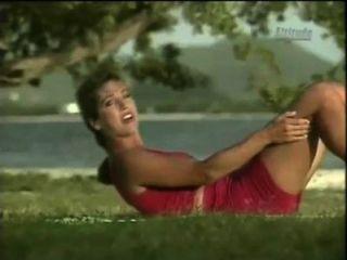 Denise austin obtener pantalones cortos st martin rojo