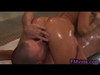 Sexy india summer nuru masaje y mierda